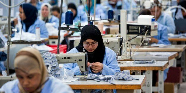 The textile factory Isalys in Sfax produces lingerie pieces for the French brand Lejaby as well as subcontracting...
