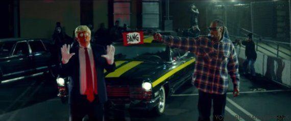 Donald Trump prend cher dans le nouveau clip de Snoop