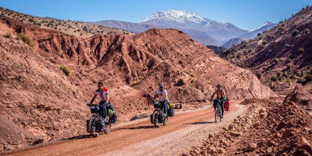 Oscar Piljek et Ivan Saganić traversent le Maroc avec un
