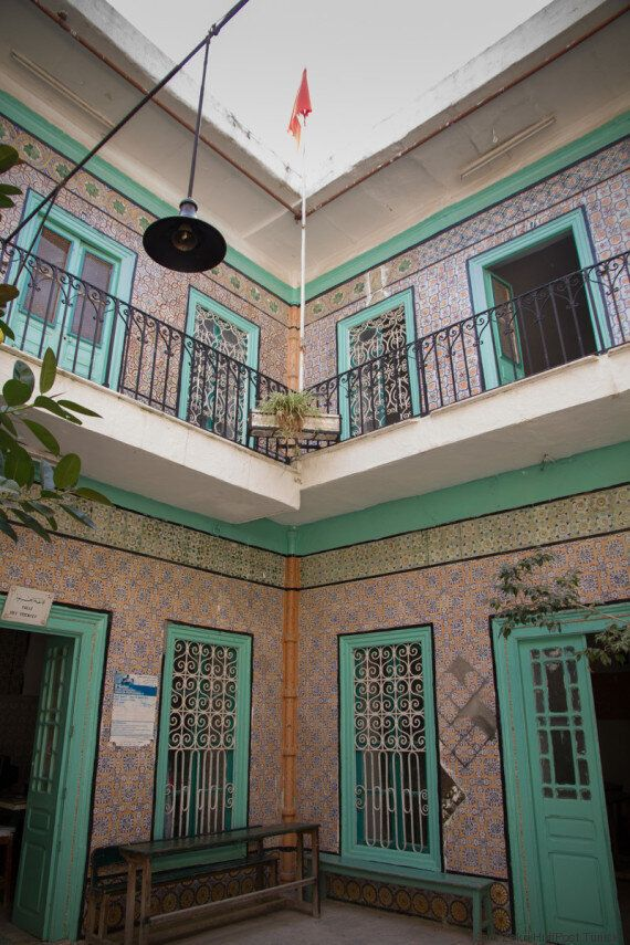 Tunisie: Ce lycée à l'architecture ancienne est un endroit surprenant à l'avenir