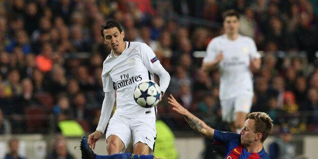 Football Soccer - Barcelona v Paris St Germain - UEFA Champions League Round of 16 Second Leg - The Nou...