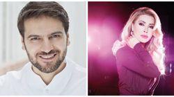 Sami Yusuf et Nawal Al Zoghbi à