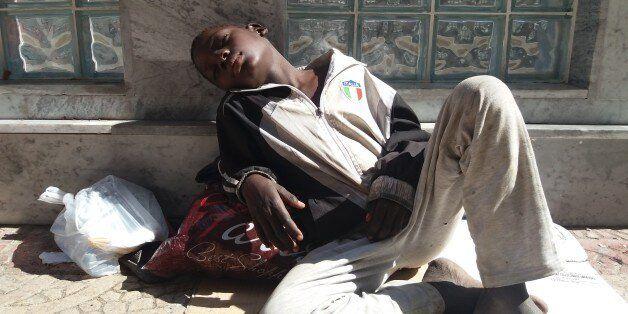 Le Chemin de croix des migrants subsahariens en
