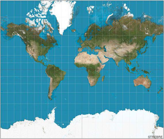 Dans les collèges et lycées publics de Boston, les cartes du monde sont désormais plus fidèles à la