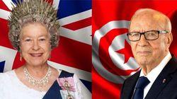 Quand la présidence de la République tunisienne publie une fausse image de la Reine Élisabeth II (avec une couronne en
