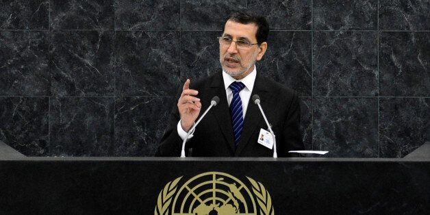 Saad Eddine El Othmani, minister for foreign affairs of Morocco, addresses the 68th session of the United...