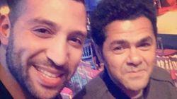 L'humoriste tunisien Nidhal Saâdi aux côtés de Jamel Debbouze dans le Jamel Comedy Club