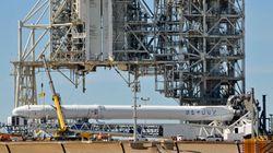 SpaceX lance sa fusée Falcon 9 vers la Station Spatiale