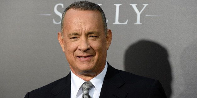 Actor Tom Hanks attends the New York premiere of the