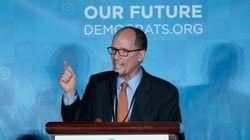 Qui est Tom Perez, le nouveau chef du parti démocrate américain, qui aura la lourde tâche de s'opposer à Donald