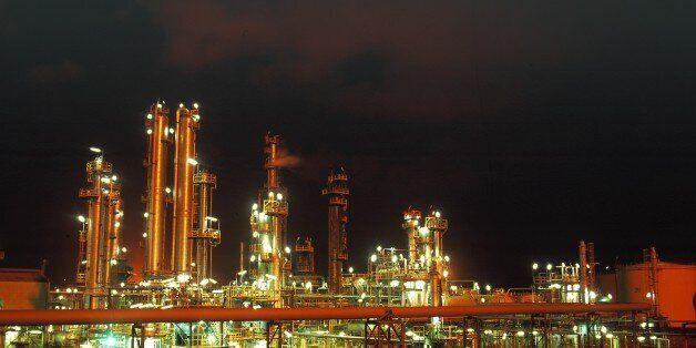 ALGERIA - JUNE 30: Oil companies In Algeria On June 30, 2008-NATEC is the first company of oil refinery...