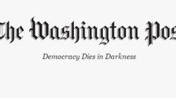 Le nouveau slogan du Washington Post contre Trump est très