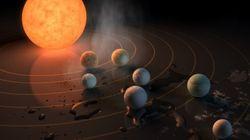 Découverte de 7 exoplanètes de la taille de la Terre, une des meilleures chances de découvrir une vie