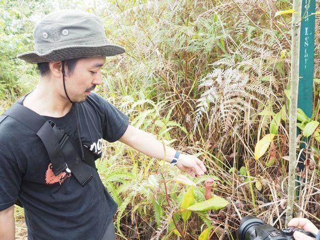 インドネシアの現場で活動する水谷さん