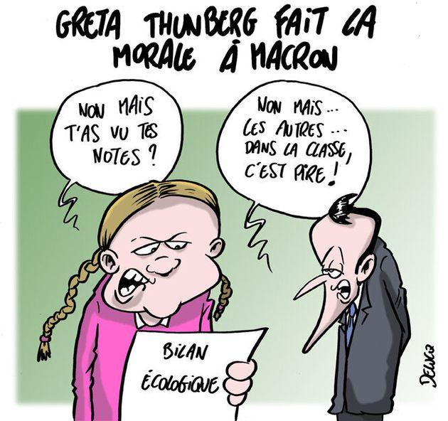 Pourquoi Greta Thunberg a pourri Emmanuel Macron à l'ONU à New
