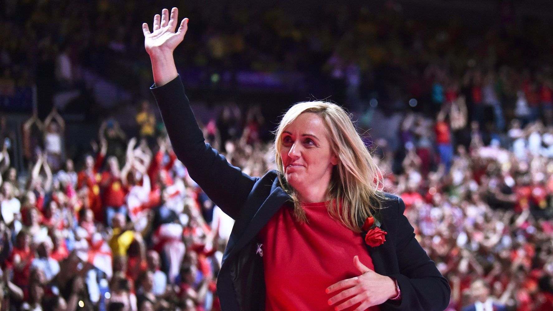 Tracey Neville Reveals She Had A Miscarriage Day After England Netball Won Commonwealth Gold