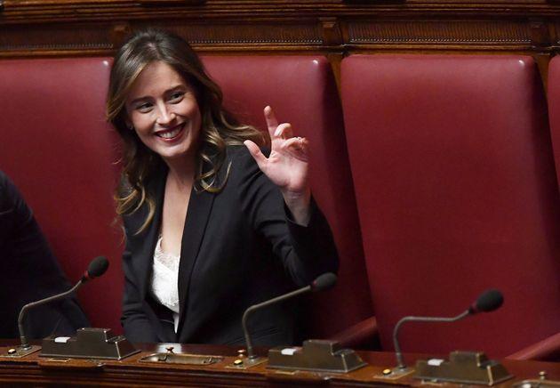 Risultati immagini per Maria Elena Boschi è la capogruppo di Italia Viva alla Camera