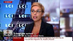 Clémentine Autain en désaccord avec Jean-Luc Mélenchon qui bannit