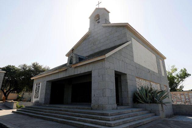 Fotografía de archivo del 28/8/2019 de la capilla propiedad de la familia de Francisco Franco en el cementerio...