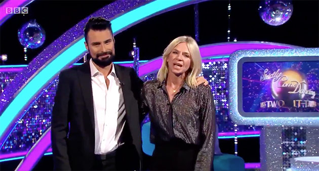 Rylan Clark-Neal and Zoe Ball on It Takes