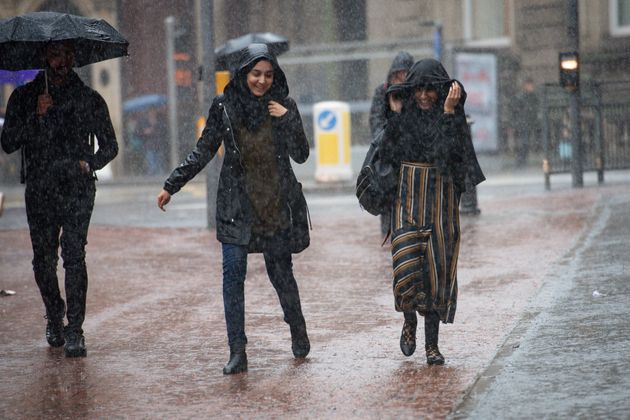 UK Weather: Hurricane Humberto Downpours To Dump A Month Of Rain On The UK Before Midnight