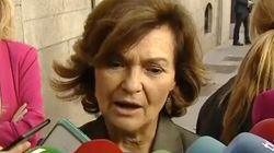 Carmen Calvo sobre la exhumación de Franco: