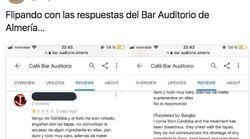 La brutal respuesta de un restaurante de Almería a este comentario en
