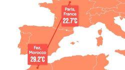 En 2100, il fera aussi chaud à Paris qu'à Fès
