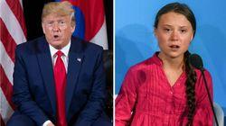 Trump Posts Sarcastic Response To Greta Thunberg's Tearful Climate Change