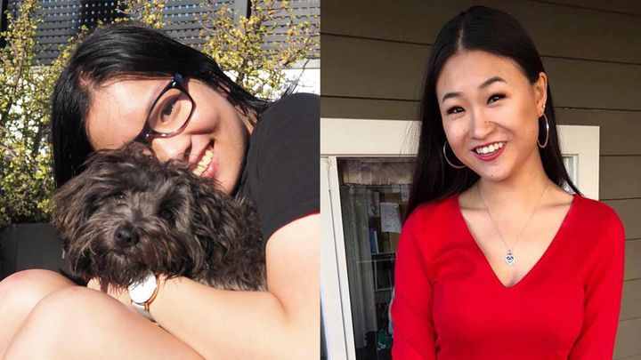 Two of Subtle Asian Traits' founders Anne Gu (left) and Angela Kang.