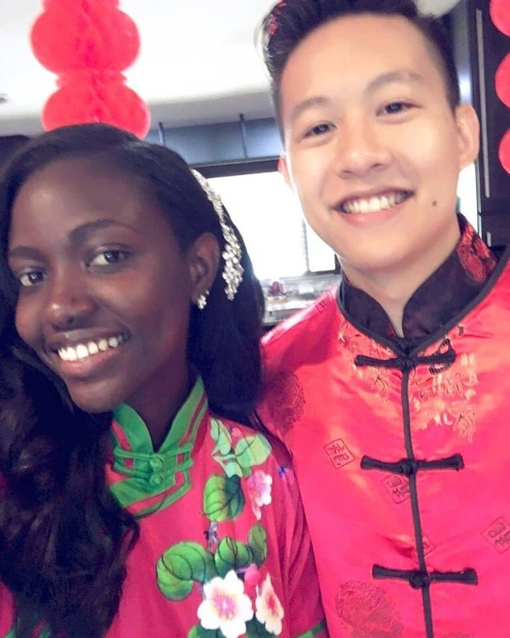 Clarence Tan posted in the group earlier this month, opening up about the struggles he faced when he introduced his parents to his partner, Edna, who is from Ghana.