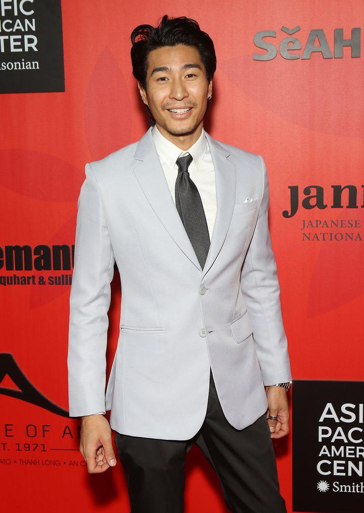 Crazy Rich Asians actor Chris Pang.