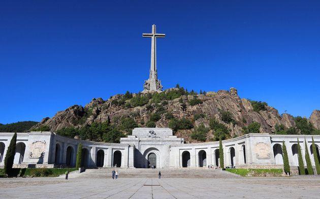 Vista del Valle de los Caídos, situado en el municipio madrileño de San Lorenzo de El