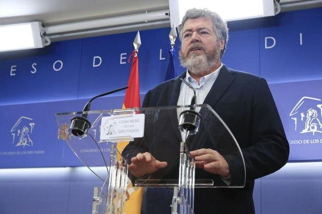 El diputado de Equo Juantxo López de Uralde. EFE/ Fernando
