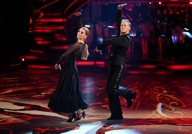 Stacey Dooley and Kevin Clifton returned to perform a victory dance during this year's launch