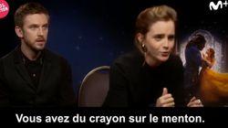 Emma Watson interrompt une interview pour... retoucher le maquillage de la
