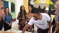 Will Smith à la rencontre des artistes à