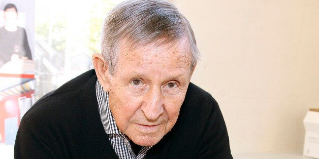 Raymond Kopa is a former French footballer Photographed in PARIS (Photo by Eric Fougere/VIP Images/Corbis...