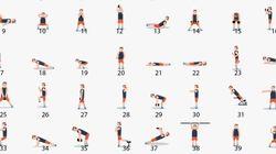 Ce GIF résume 48 exercices parfaits pour vous