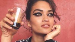 La top model Shanina Shaik en toute décontraction à