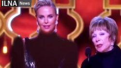 Pendant les Oscars, Charlize Theron a grossièrement été rhabillée par la censure