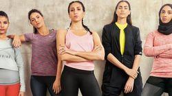 L'escrimeuse tunisienne Ines Boubakri, parmi les héroïnes de la nouvelle campagne Nike au Moyen-Orient