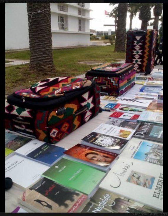 Ces valises spéciales ont voyagé de Tunis à Casablanca. C'est pour une bonne