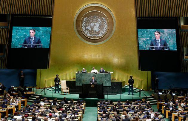 O mandatário brasileiro abriu a 74ª Assembleia Geral da