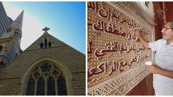En Afrique du Sud, des artisans marocains décorent une ancienne église devenue
