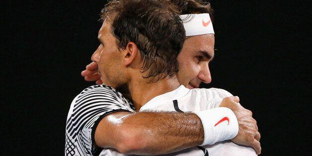 Tennis - Australian Open - Melbourne Park, Melbourne, Australia - 29/1/17 Switzerland's Roger Federer...