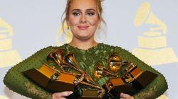 Adele et David Bowie, grands gagnants des Grammy Awards