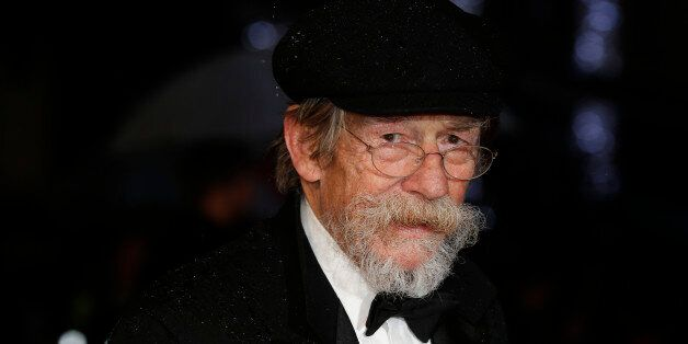 Actor John Hurt arrives for the European premiere of the