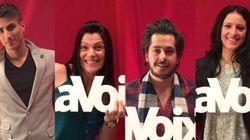 La Voix : Mathieu, Angélike, Kevin et Rosa en
