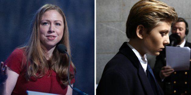 Chelsea Clinton vole au secours de Barron, le fils de Donald Trump, moqué sur les réseaux